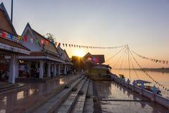Mekong rivier, Thailand Stock Foto