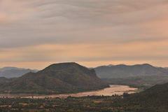 Mekong rzeka. Fotografia Royalty Free