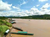 Mekong rzeka fotografia royalty free