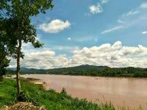 Mekong rzeka zdjęcie stock
