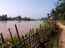 Mekong wyspa, Don Det Zdjęcie Stock