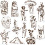 Meksyk - 2 ilustracja wektor