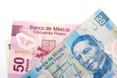 Meksyk banknoty obrazy royalty free