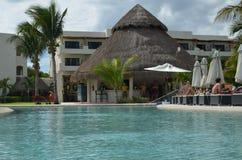 Meksyk basenu strona Obrazy Stock