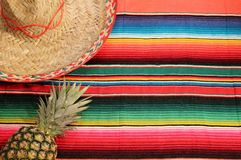 Meksyk fiesta tło Obraz Royalty Free