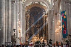 Meksyk katedra Zdjęcia Royalty Free