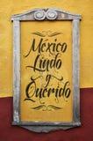 Meksyk Lindo y Querido, Meksyk - Piękny i ukochany zdjęcie royalty free