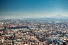 Meksyk linii horyzontu widok z lotu ptaka zdjęcie stock