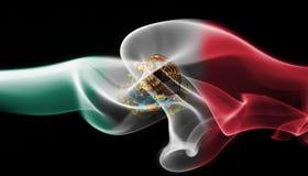 Meksyk obywatela dymu flaga Obrazy Stock