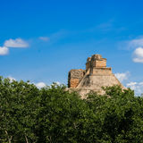 Meksyk, Palenque, Majski ostrosłup, Zdjęcie Royalty Free