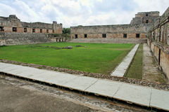 meksyk square uxmal Yucatan klasztorze Fotografia Stock