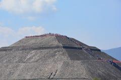Meksyk teotihuacan Zdjęcie Royalty Free