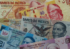 Meksyk waluta Fotografia Stock