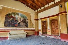 Meksykańscy kolonialni architektoniczni szczegóły zdjęcia stock