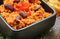 meksykańscy ryż Fotografia Royalty Free