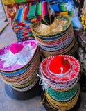 Meksykańscy sombrero Obrazy Royalty Free