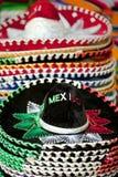 Meksykańscy sombrero dla sprzedaży w Cabo San Lucas zdjęcia stock