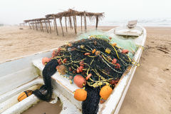 Meksykańska łódź rybacka fotografia stock