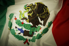 Meksykańska flaga Zdjęcia Stock
