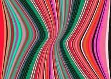 Meksykańska koc Paskuje wielo- koloru wektoru wzór Typowa kolorowa wyplatająca tkanina od środkowego America ilustracja wektor