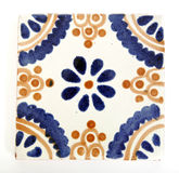 meksykańska kształta kwadrata płytka Zdjęcie Royalty Free