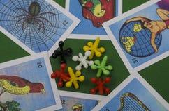 Meksykańska loteria i dźwigarki gemowi obraz royalty free