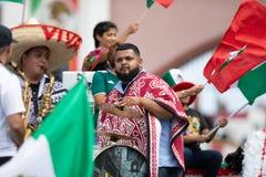 Meksykańska niezależności parada fotografia stock