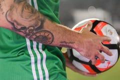 Meksykańska piłka nożna na szczególe podczas Copa Ameryka Centenario Fotografia Stock
