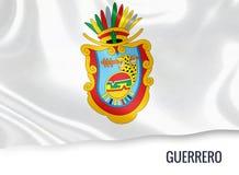 Meksykańska stanu Guerrero flaga royalty ilustracja