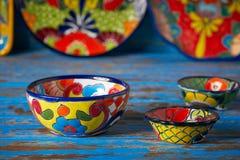 Meksykański ceramiczny Talavera styl Meksyk obrazy stock