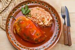 Meksykański chile relleno obrazy stock