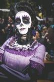 Meksykański colplayer w Lucca comix zdjęcie stock