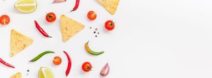 Meksykański Karmowego przygotowania kulinarny pojęcie zdjęcia stock