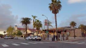 Meksykański okręg przy San Diego Starym miasteczkiem KWIECIEŃ 1, 2019 - SAN DIEGO, usa - zbiory wideo