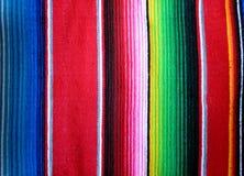 Meksykański poncho tło Zdjęcia Stock