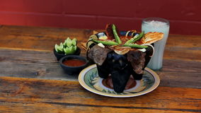 Meksykański posiłek Obrazy Stock