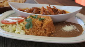 Meksykański posiłek Fotografia Stock