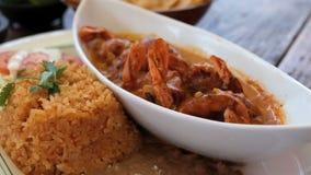 Meksykański posiłek Zdjęcia Royalty Free