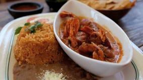 Meksykański posiłek Obraz Royalty Free