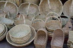 Meksykański słomiany sklepu pokaz Obraz Royalty Free