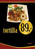 Meksykański tortilla Meksykański fajita meksykański opakunek Tortilla plakiety obrazy royalty free