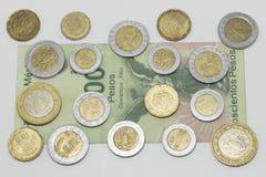 Meksykański waluta peso zdjęcie royalty free