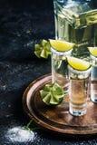 Meksykański Złocisty Tequila Zdjęcie Royalty Free