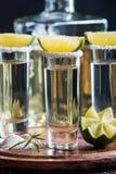 Meksykański Złocisty Tequila Zdjęcia Royalty Free