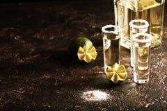 Meksykański Złocisty Tequila Obrazy Stock