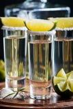 Meksykański Złocisty Tequila Obraz Royalty Free