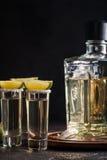 Meksykański Złocisty Tequila Zdjęcie Stock