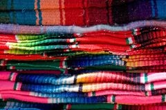 meksykańskie koc. fotografia stock