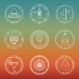Meksykańskie odznaki Obrazy Royalty Free