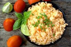 meksykańskie ryżu Fotografia Stock